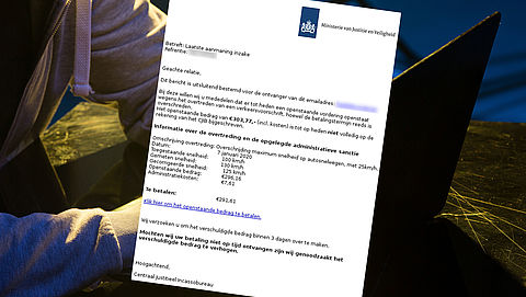 Nepbericht over laatste aanmaning van 'Centraal Justitieel Incassobureau'