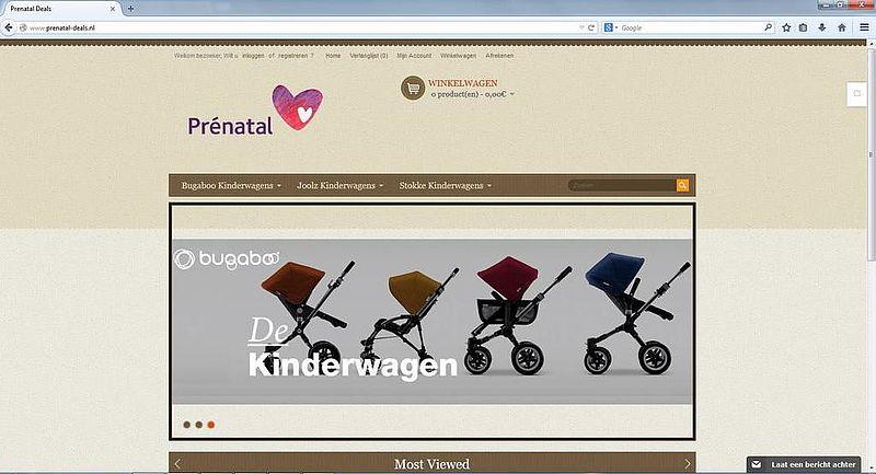 'Prenatal-deals.nl maakt misbruik van gegevens bonafide bedrijf'