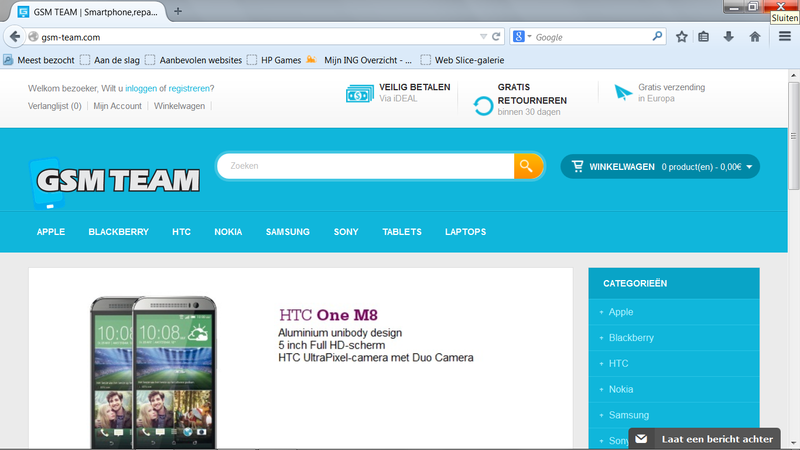 'Prijzen Gsm-team.com te mooi om waar te zijn'