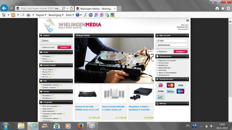 'Wielingenmedia.com misbruikt Hennes & Maurits'