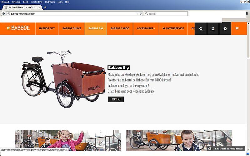 'Babboe-summerdeals.com is nepwebshop'