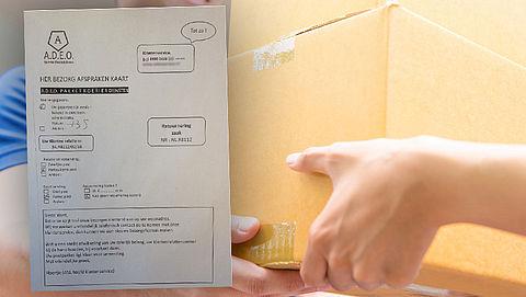 Brief over gemist pakket leidt naar duur telefoonnummer