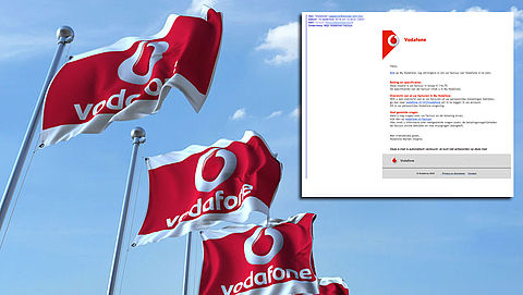 Fraudeurs uit op je Vodafone-accountgegevens