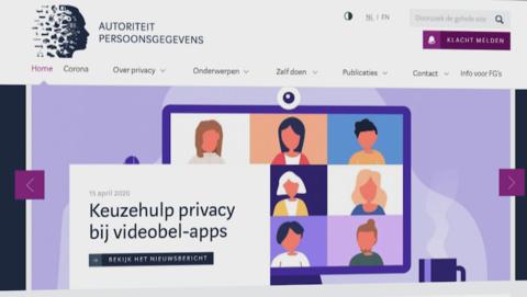 Autoriteit Persoonsgegevens biedt hulp bij videobellen