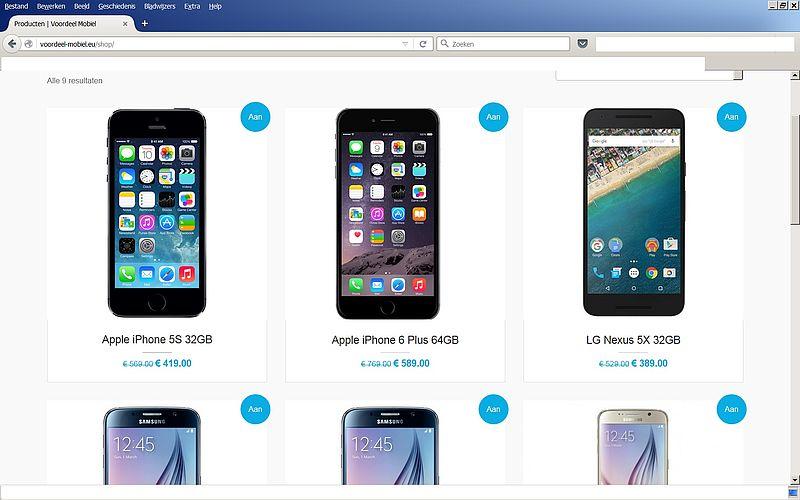 'Koop niks bij voordeel-mobiel.eu!'