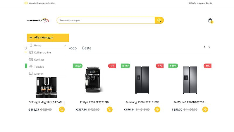Woningmrkt.com is een malafide webshop, waarschuwt de politie