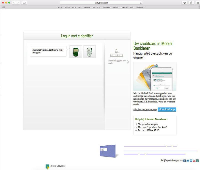 Phishingmail 'ABN AMRO' in omloop