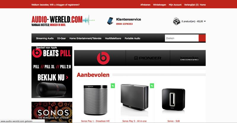 'Audio-wereld.com maakt misbruik van KvK-gegevens'