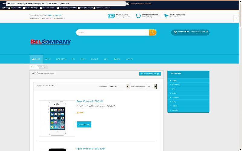 'Belcompany-outlet.nl maakt misbruik Kvk-gegevens van bonafide bedrijf'