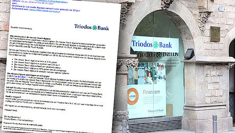 E-mail 'Triodos' over nieuwe digipas is phishing