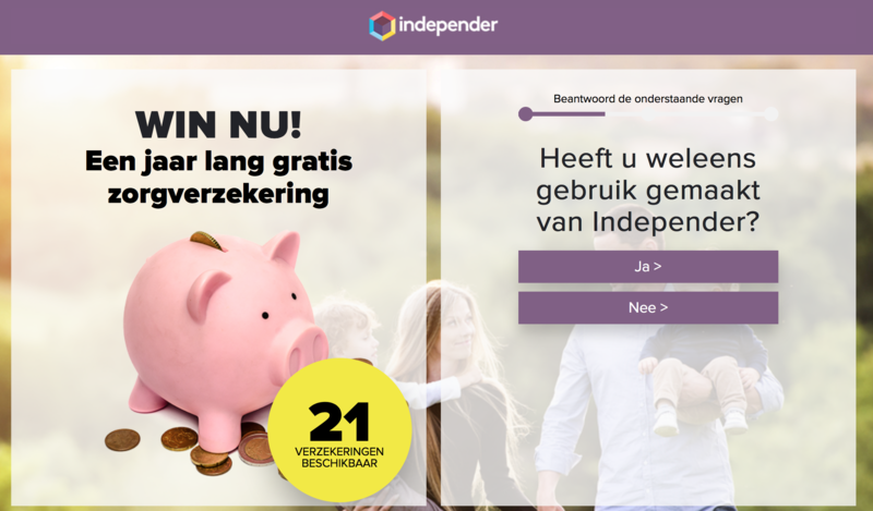 Valse winactie 'Independer' over gratis zorgverzekering