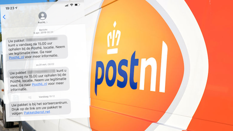 Verzendbevestiging van 'PostNL'? Dat is overtuigende, gevaarlijke phishing!