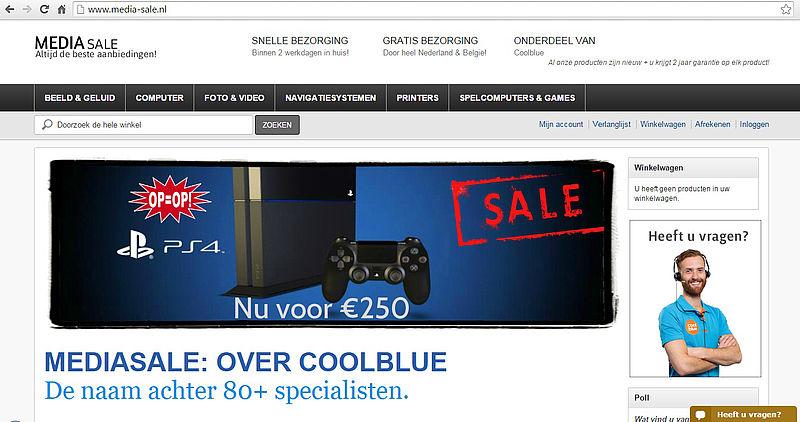 'Pas op voor media-sale.nl'