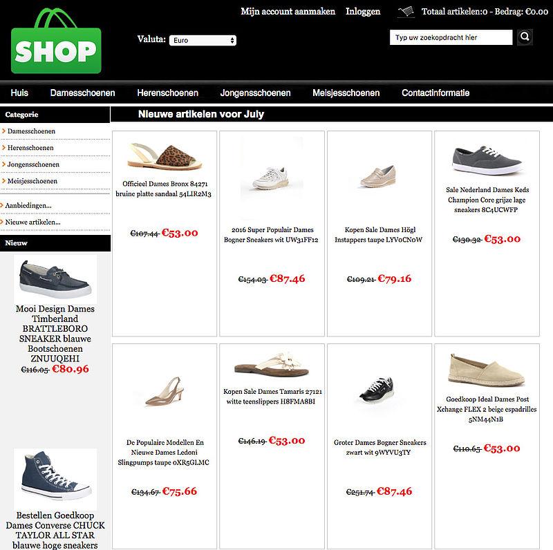 Koop niet bij deze webwinkels