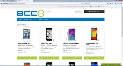 'Outlet-bcc.com misbruikt gegevens BCC'
