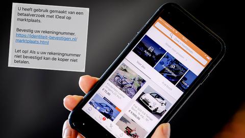 Sms-berichten van 'Marktplaats' zijn van oplichters die je bankrekening willen plunderen