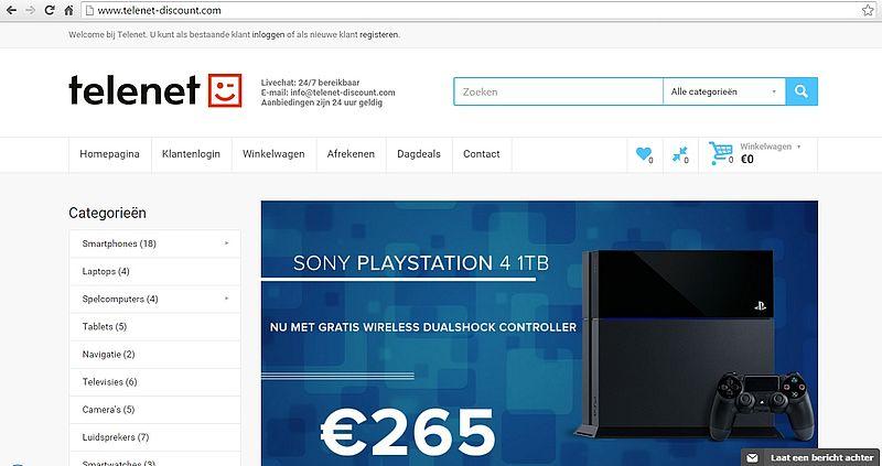 'Telenet-discount.com is malafide webshop'