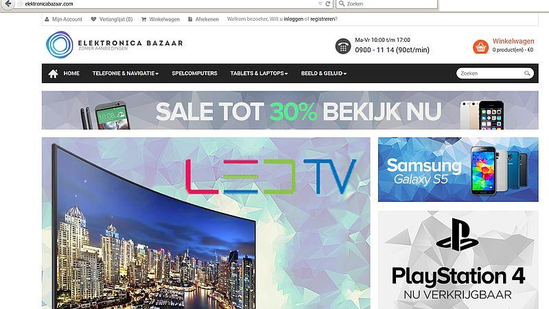 'Doe geen aankopen bij Elektronicabazaar.com!'
