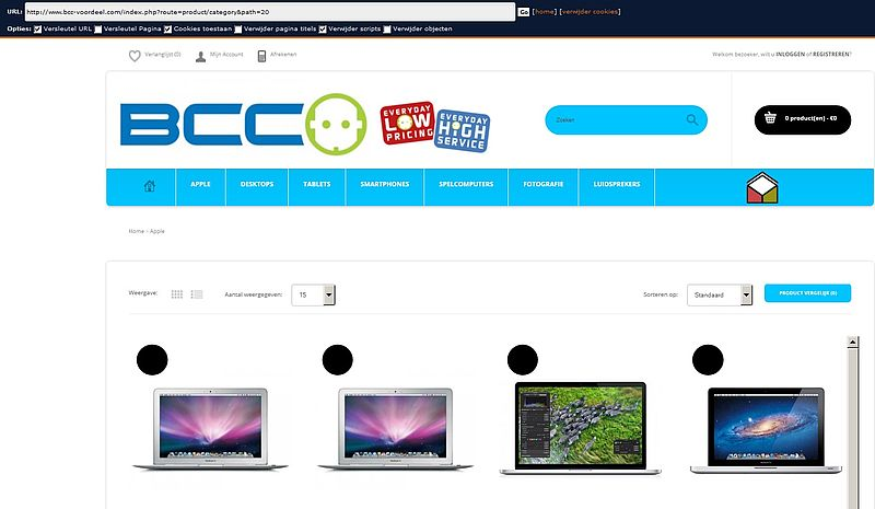 'Bcc-voordeel.com is nep'
