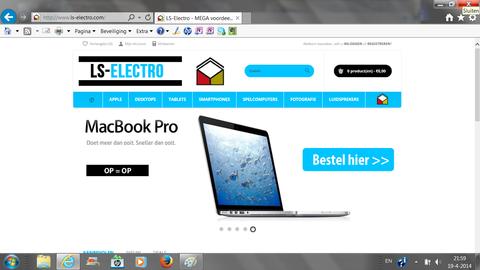 'Ls-electro.com misbruikt keurmerk'