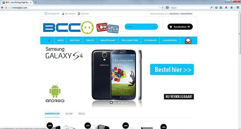 Volgende fake BCC-webshop: kortingbijbcc.com