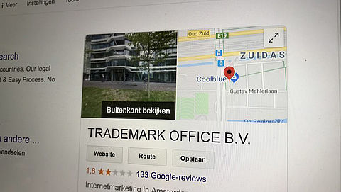 Trademark Office uit Groningen is failliet