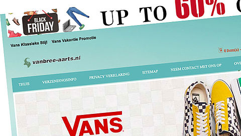 Politie waarschuwt voor webshop www.vanbree-aarts.nl