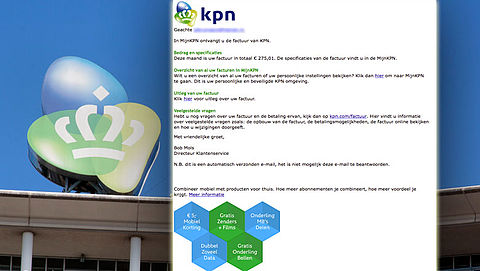 E-mail 'KPN' blijkt phishing