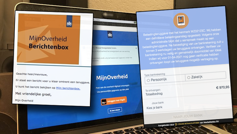 Weer valse mails namens de 'MijnOverheid Berichtenbox' over belastingteruggave in omloop