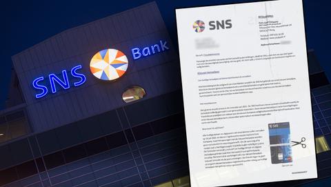 Oplichters sturen nepbrieven namens SNS Bank over verplichte aanvraag nieuwe betaalpas