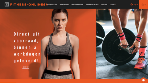 Webshop fitness-online24.com maakt alleen je portemonnee slanker