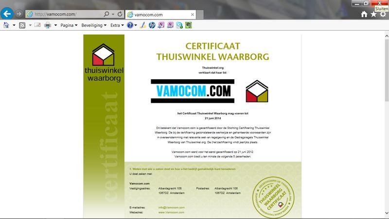 Vamocom.com linkt door naar olink-telecom.com