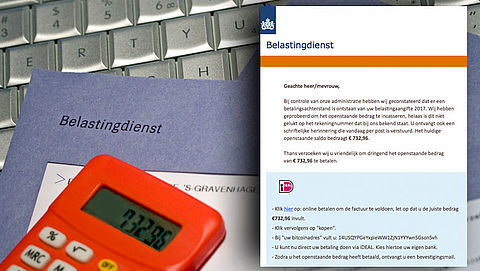 Let op! Valse e-mail 'Belastingdienst' in omloop