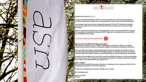 Pas op voor phishingmail uit naam van ASN Bank!