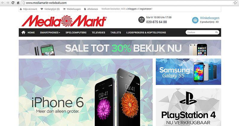 'Mediamarkt-webdeals.com is malafide'