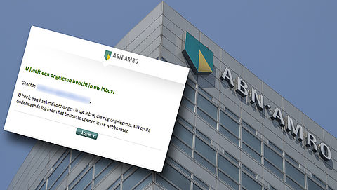 Afzenders van mail van 'ABN AMRO' over ongeopende bankmail zijn uit op je betaalpas