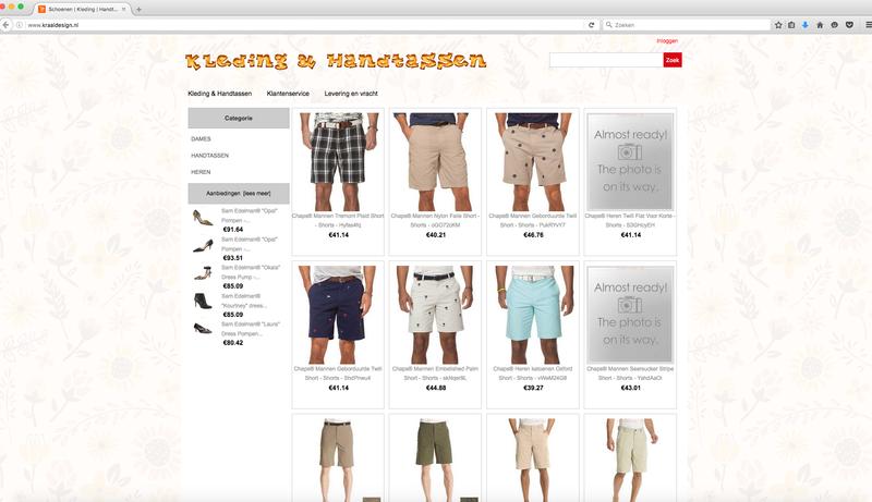 Kraaldesign.nl misbruikt logo Thuiswinkel.org