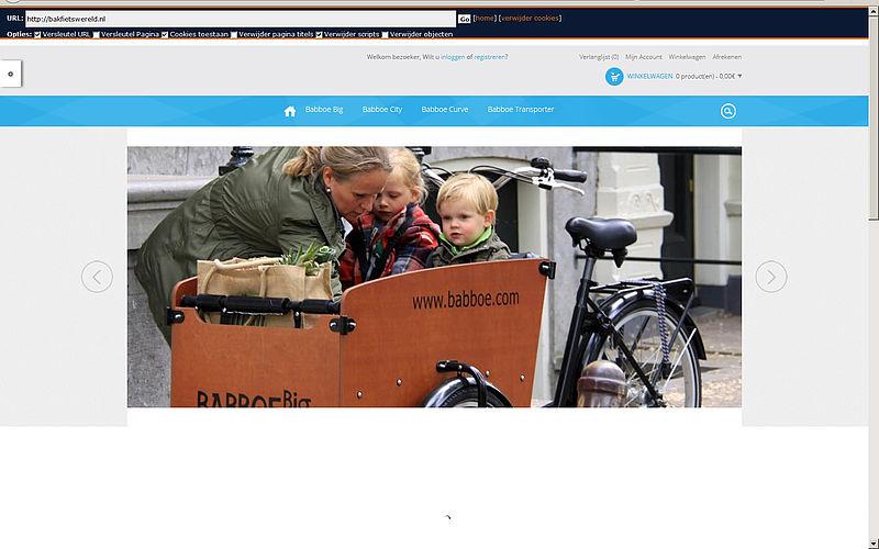 'Bakfietswereld.nl maakt misbruik gegevens bonafide bedrijf'