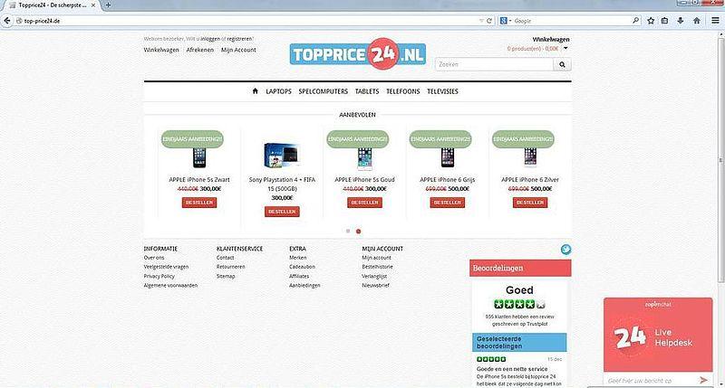 'Top-price24.de plaatst advertenties op gehackte accounts'