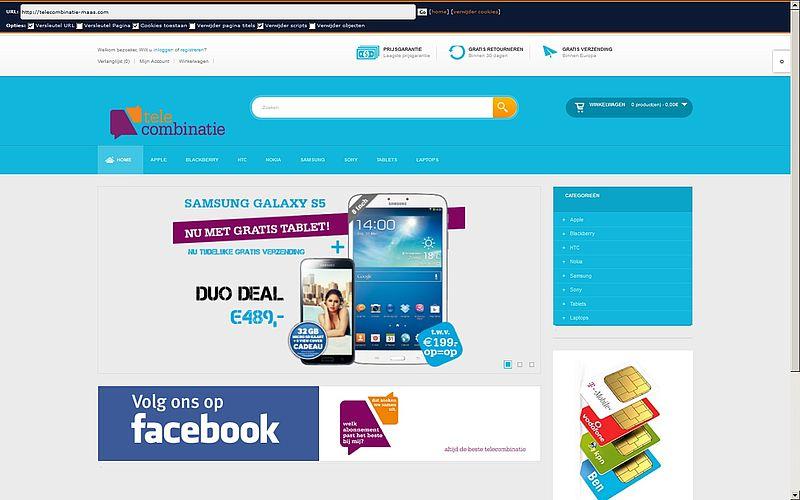 'Telecombinatie-maas.com volgende in telecombinatie reeks'
