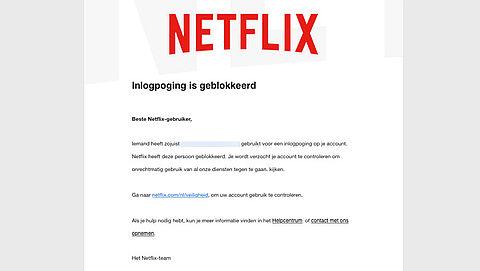 Waarschuwing voor Netflix-kijkers! Er is een nepmail in omloop