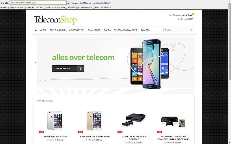 Pas op voor telecomshopdeals.com!
