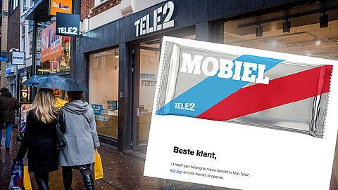 Phishingmail 'Tele2' over nieuw bericht