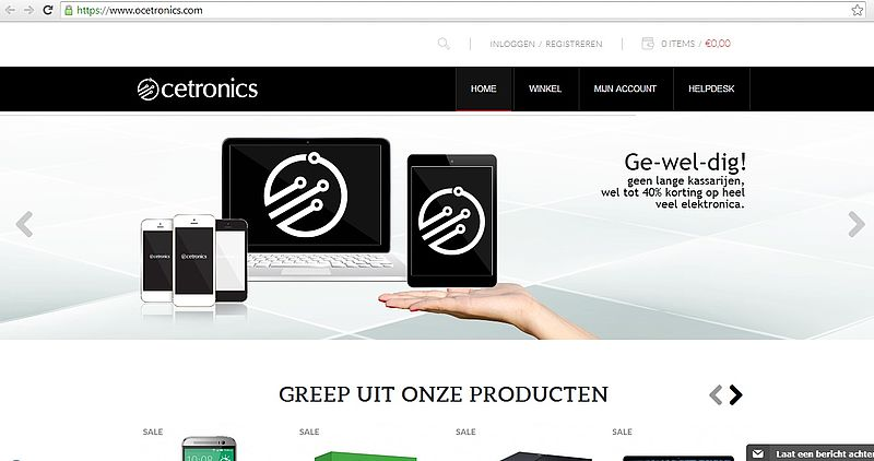 'Ocetronics.com maakt misbruik keurmerken'