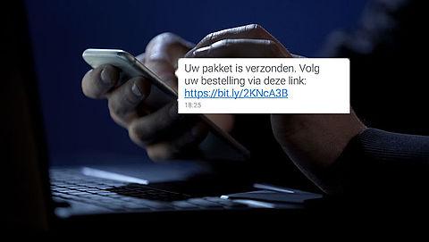 Sms van +316 1106 0828 over PostNL-bezorging is phishing