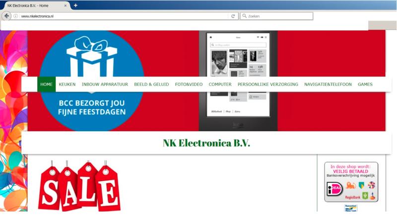 'Koop niets bij nkelectronica.nl'