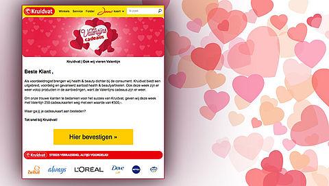 Opnieuw 'winactie' die inspeelt op Valentijnsdag