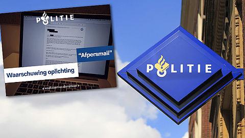 Politie waarschuwt voor afpersmail met wachtwoord