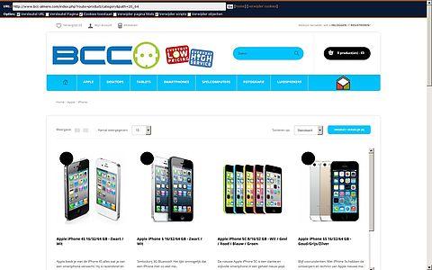 'Bcc-almere.com maakt misbruik van gegevens BCC'