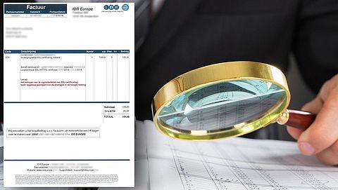 Fraudehelpdesk waarschuwt voor spookfactuur IDR Europe